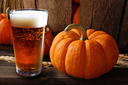 Beer and Pumpkin